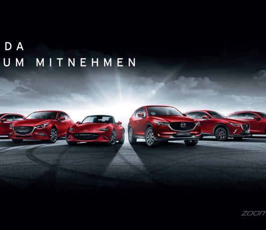 Mazda zum Mitnehmen