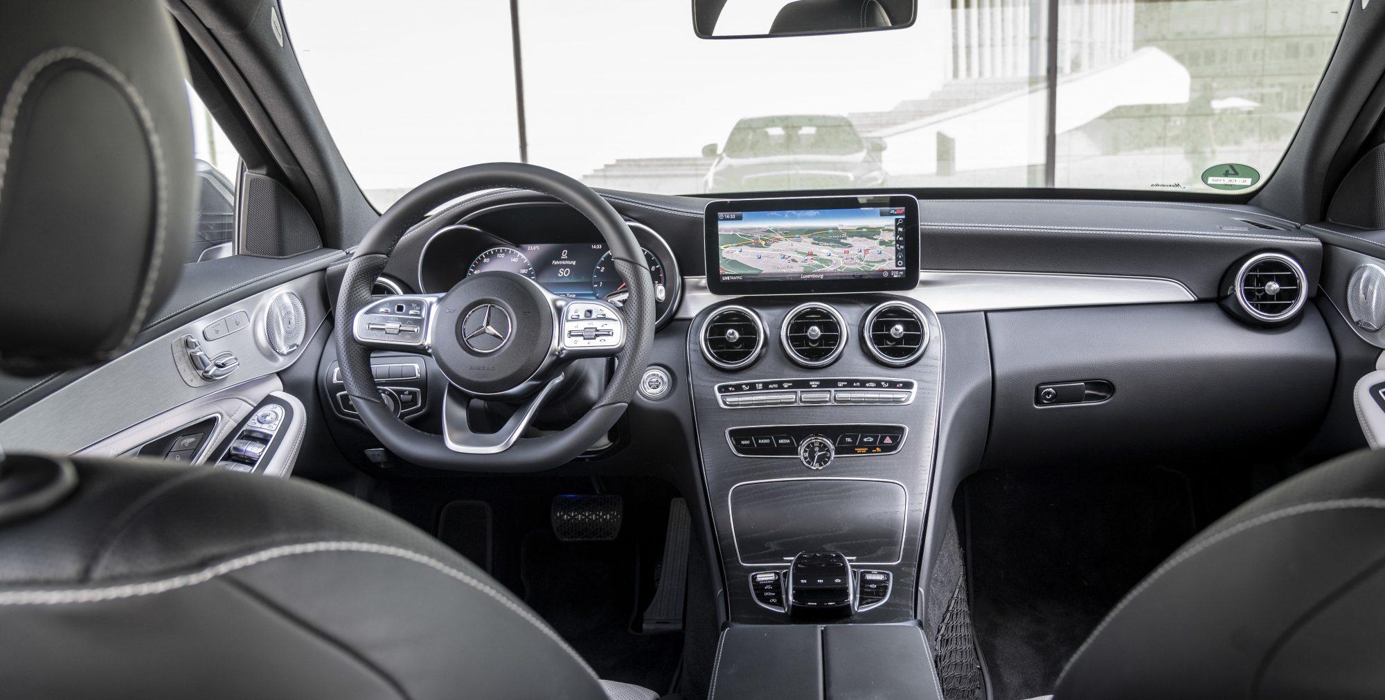 Mercedes Benz Facelift Fur Die Neue C Klasse Gas Junky
