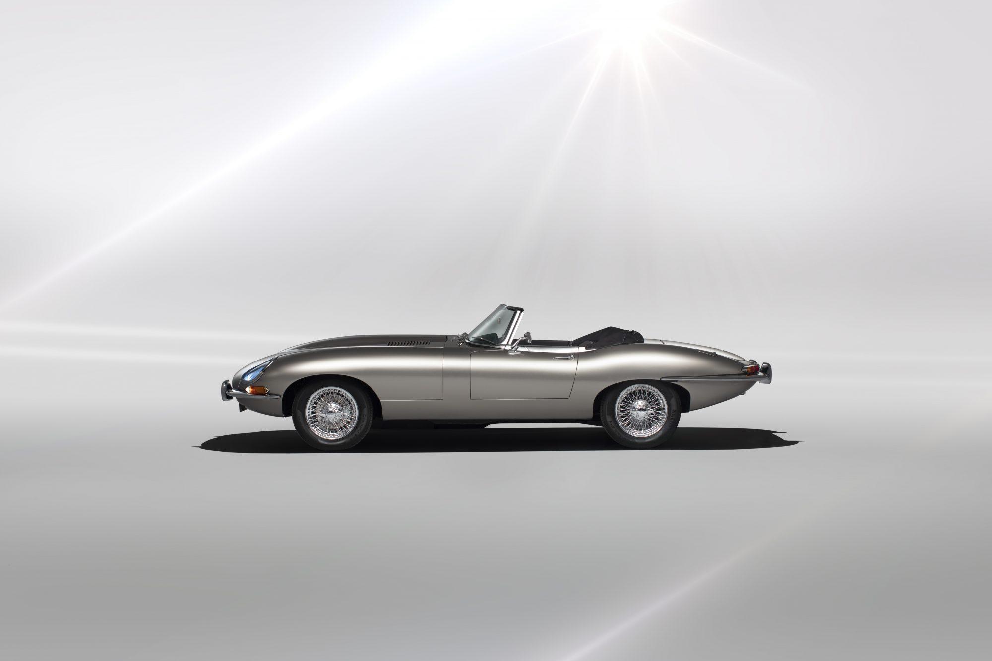 jaguar e type zero das sch nste elektroauto der welt. Black Bedroom Furniture Sets. Home Design Ideas