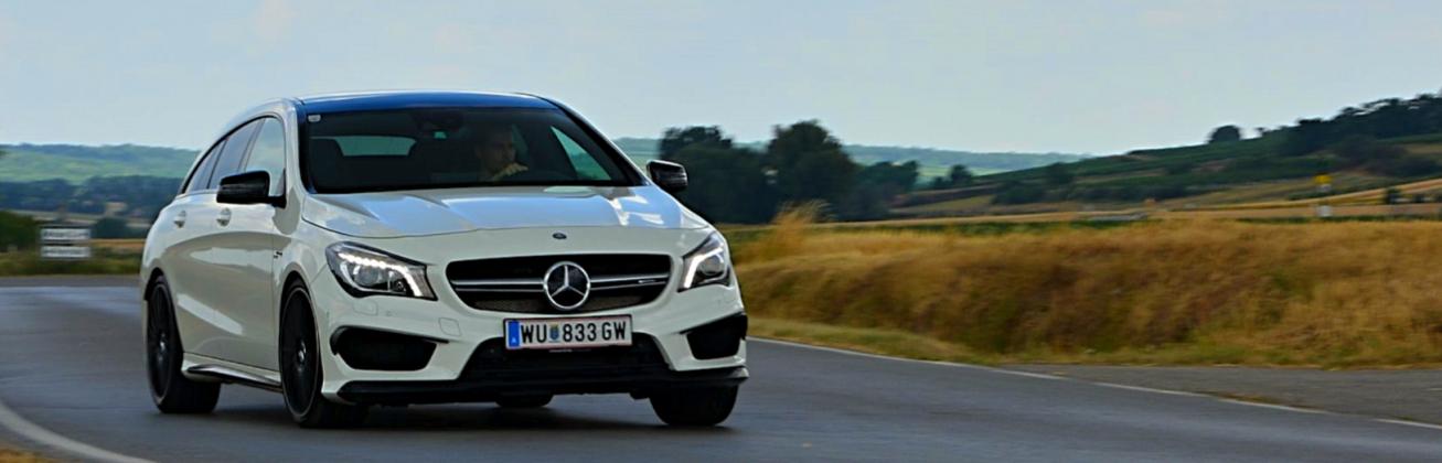 Mercedes-AMG CLA45 Shooting Brake