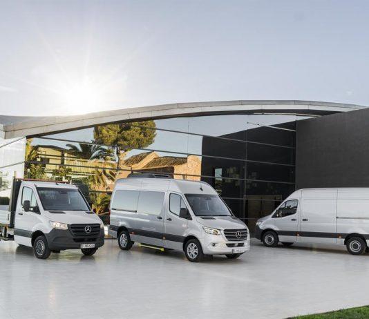 Mercedes-Benz der neue Sprinter