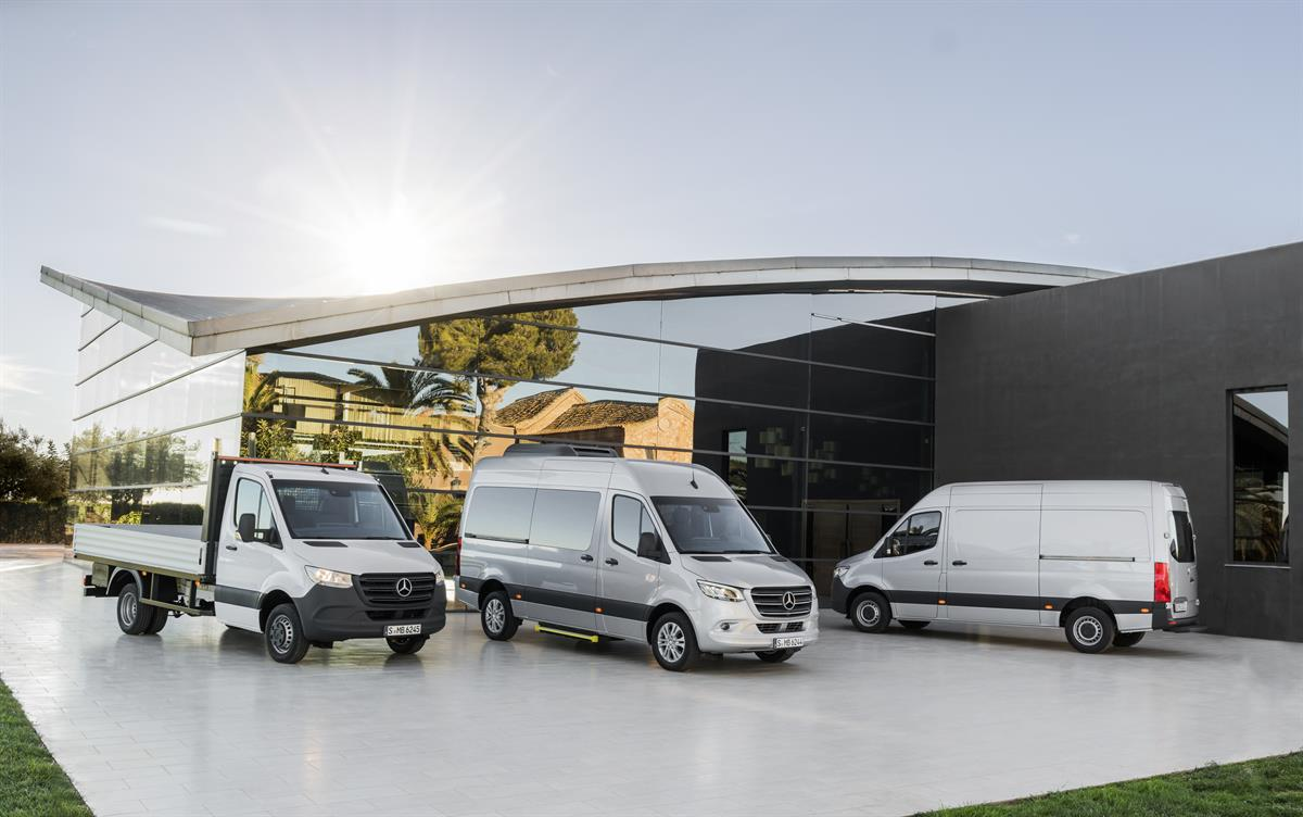 Mercedes Sprinter 2019 >> Der neue Mercedes-Benz Sprinter - Gas Junky
