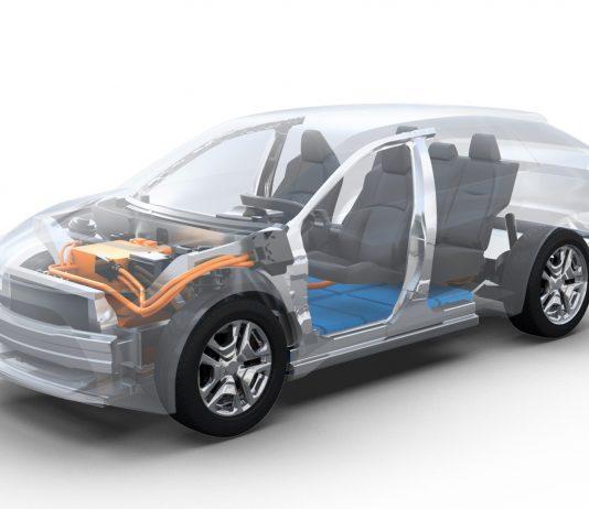 Subaru reinelektrisches Modell